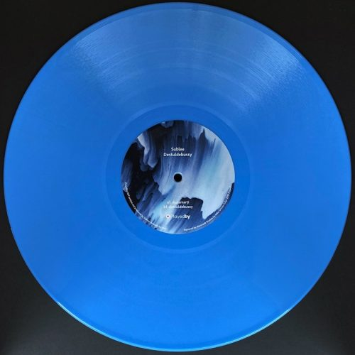 Sublee - Destuldebussy EP // Playedby007 | Light blue Vinyl Limited Repress