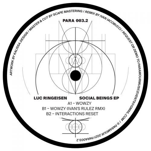 Luc Ringeisen - Social Beings EP // PARA003.2