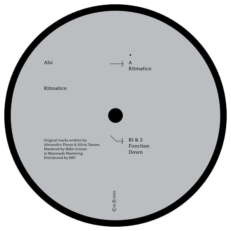 Alsi - Ritmatico EP // Elements001
